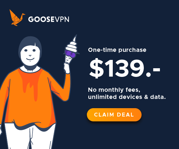 GOOSE VPN Lifetime Deal